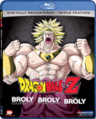 Dragon Ball Z - Movie 08+10+11: Broly, the Legendary Super Saiyan + Broly: Second Coming + Bio-Broly [Blu-ray]