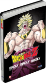 Dragon Ball Z - Movie 08+10+11: Broly, the Legendary Super Saiyan + Broly: Second Coming + Bio-Broly - Steelbook