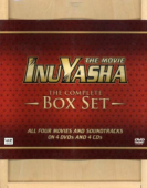 InuYasha - Movie 1-4: Collector's Edition + OSTs