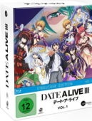 Date a Live III - Vol.1/3: Limited Steelcase Edition [Blu-ray] + Sammelschuber