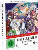 Date a Live III - Vol.1/3: Limited Steelcase Edition + Sammelschuber
