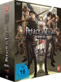 Attack on Titan: Staffel 3 - Vol. 1/4: Limited Edition [Blu-ray] + Sammelschuber