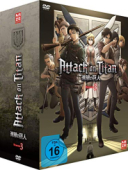 Attack on Titan: Staffel 3 - Vol. 1/4: Limited Edition + Sammelschuber