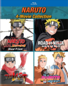 Naruto - 4 Movie Collection [Blu-ray]
