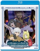 Is it Wrong to Try to Pick Up Girls in a Dungeon?: Season 2 [Blu-ray]