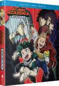 My Hero Academia: Season 4 - Part 1/2 [Blu-ray+DVD]