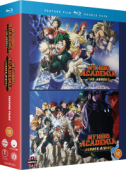 My Hero Academia: Two Heroes + Heroes Rising [Blu-ray]