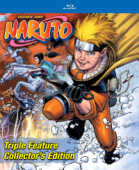 Naruto Triple Feature - Collector's Edition [Blu-ray]