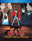 Lupin the Third: The Pursuit of Harimao's Treasure [Blu-ray]