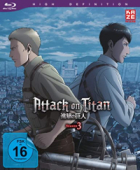 Attack on Titan: Staffel 3 - Vol. 3/4 [Blu-ray]