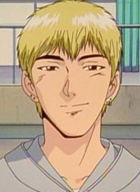 """Eikichi ONIZUKA"" is a character of anime ""Great Teacher Onizuka"" and of manga ""GTO""."