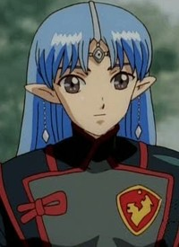 Lafiel is a character of anime »Seikai no Monshou« and of manga »Seikai no Monshou«.