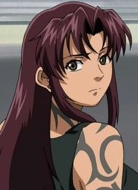 Revy is a character of anime »Black Lagoon« and of manga »Black Lagoon«.