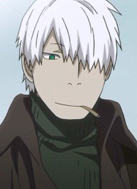 Ginko is a character of anime »Mushishi« and of manga »Mushishi«.