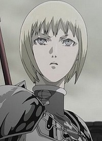 Clare is a character of anime »Claymore« and of manga »Claymore«.
