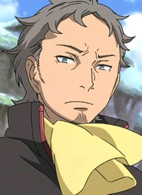 Holland NOVAK is a character of anime »Koukyoushi Hen: Eureka Seven« and of manga »Koukyoushi Hen: Eureka Seven«.