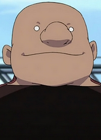 Gluttony is a character of anime »Hagane no Renkinjutsushi« and of manga »Hagane no Renkinjutsushi«.