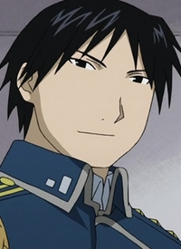Roy MUSTANG is a character of anime »Hagane no Renkinjutsushi (2009)« and of manga »Hagane no Renkinjutsushi«.