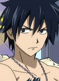 Gray FULLBUSTER is a character of anime »Fairy Tail« and of manga »Fairy Tail«.