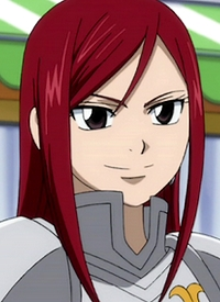 """Elza SCARLET"" is a character of anime ""Fairy Tail"" and of manga ""Fairy Tail""."