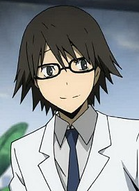 Shinra KISHITANI is a character of anime »Durarara!!« and of manga »Durarara!!«.