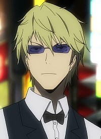 Shizuo HEIWAJIMA is a character of anime »Durarara!!« and of manga »Durarara!!«.
