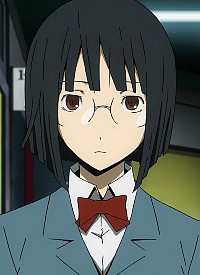 Anri SONOHARA is a character of anime »Durarara!!x2 Ten« and of manga »Durarara!! 18 Shiryaku«.
