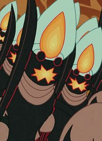 Artificial Ghosts is a character of anime »Panty & Stocking with Garterbelt«.