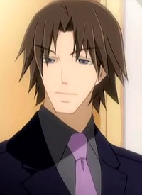 Ryuuichirou ISAKA is a character of anime »Junjou Romantica« and of manga »Junjou Romantica«.