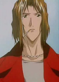 """Youji KUDOU"" is a character of anime ""Weiß Kreuz"" and of manga ""Weiss Kreuz""."