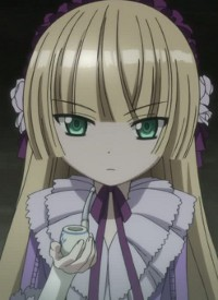 Victorique DE BLOIS is a character of anime »Gosick« and of manga »Gosick«.
