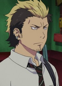 Ryuuji SUGURO is a character of anime »Ao no Exorcist« and of manga »Ao no Exorcist«.