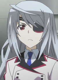 Laura BODEWIG is a character of anime »IS: Infinite Stratos« and of manga »IS: Infinite Stratos«.