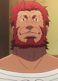 Iskander is a character of anime »Fate/Zero« and of manga »Fate/Zero«.