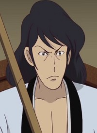 Goemon ISHIKAWA XIII is a character of anime »Lupin Sansei: Cagliostro no Shiro« and of manga »Lupin III (2015)«.