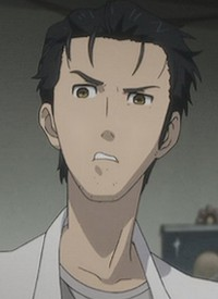"""Rintarou OKABE"" is a character of anime ""Steins;Gate"" and of manga ""Steins;Gate""."