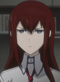 Kurisu MAKISE is a character of anime »Steins;Gate« and of manga »Steins;Gate«.