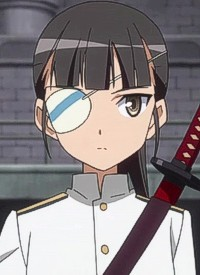 Mio SAKAMOTO is a character of anime »Strike Witches (2008)« and of manga »Strike Witches Gekijouban: 501 Butai Hasshin shimasu!«.