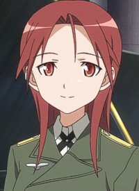 Minna-Dietlinde WILCKE is a character of anime »Strike Witches (2008)« and of manga »Strike Witches: Otome no Maki«.