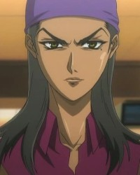 """Shinobu KAGURAZAKA"" is a character of anime ""Tenjou Tenge""."