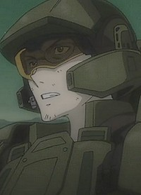 """Marine"" is a character of anime ""Halo Legends""."