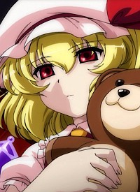 Flandre SCARLET is a character of anime »Touhou PVD«.