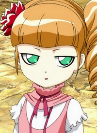 """Ecarlate JUPTRIS ST. PIRIA"" is a character of anime ""Ixion Saga DT""."