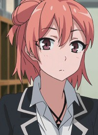 Yui YUIGAHAMA is a character of anime »Yahari Ore no Seishun Lovecome wa Machigatte Iru.« and of manga »Yahari Ore no Seishun Love Come wa Machigatteiru. -Mougenroku-«.