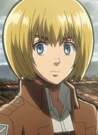 Armin ARLERT is a character of anime »Shingeki no Kyojin« and of manga »Shingeki no Kyojin«.