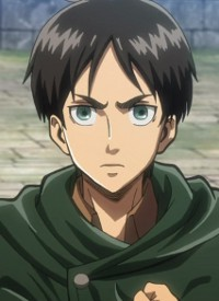 Eren YEAGER is a character of anime »Shingeki no Kyojin« and of manga »Shingeki no Kyojin«.