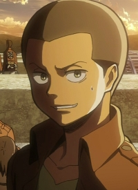 Connie SPRINGER is a character of anime »Shingeki no Kyojin« and of manga »Shingeki no Kyojin«.
