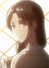 Carla YEAGER is a character of anime »Shingeki no Kyojin« and of manga »Shingeki no Kyojin«.
