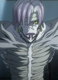 """Rem"" is a character of anime ""Death Note"" and of manga ""Death Note""."