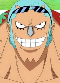 Franky is a character of anime »One Piece« and of manga »One Piece«.